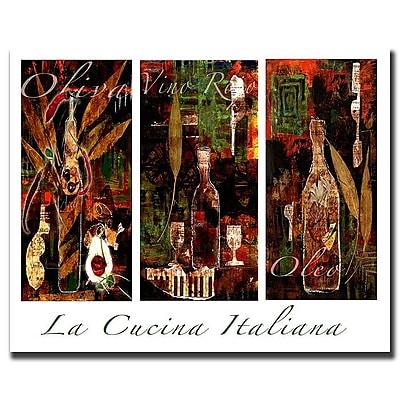 Trademark Fine Art 'La Cucina Italiana' 24