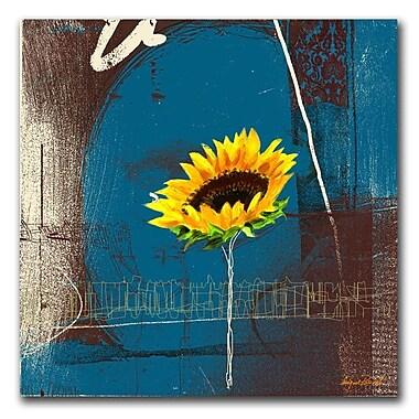 Trademark Fine Art 'Sunflower' 35
