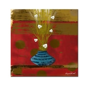"Trademark Fine Art 'Red Dawn II' 24"" x 24"" Canvas Art"