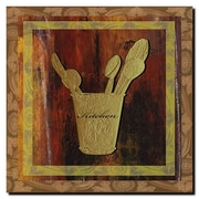 "Trademark Fine Art 'Kitchen' 18"" x 18"" Canvas Art"