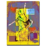 "Trademark Fine Art 'Ballerina' 14"" x 19"" Canvas Art"