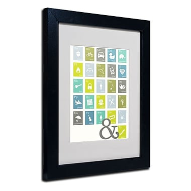 Trademark Fine Art 'Alpha Bits Cooled'