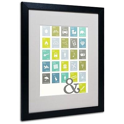 Trademark Fine Art 'Alpha Bits Cooled' 16