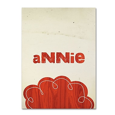 Trademark Fine Art 'Annie' 30
