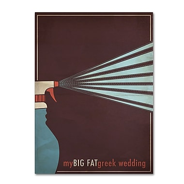 Trademark Fine Art 'My Big Fat Green Wedding' 14