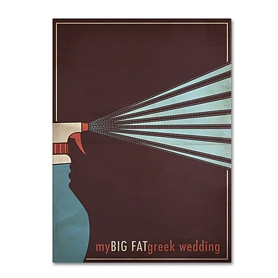 Trademark Fine Art 'My Big Fat Green Wedding' 30