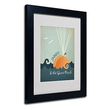 Trademark Fine Art 'James and the Giant Peach'