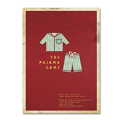 Trademark Fine Art 'The Pajama Game' 16