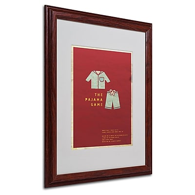 Trademark Fine Art 'The Pajama Game' 16