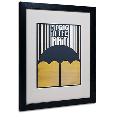 Trademark Fine Art 'Singing in the Rain' 16