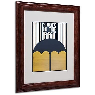 Trademark Fine Art 'Singing in the Rain' 11