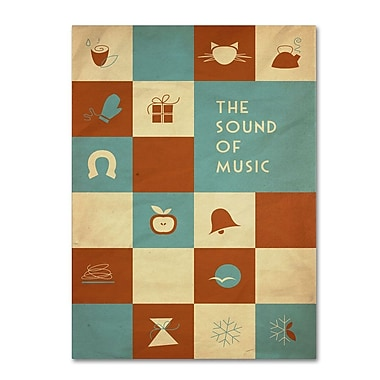 Trademark Fine Art 'The Sound of Music' 14