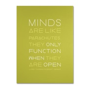 "Trademark Fine Art 'An Open Mind I' 14"" x 19"" Canvas Art"