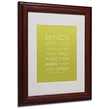 Trademark Fine Art 'An Open Mind' 11