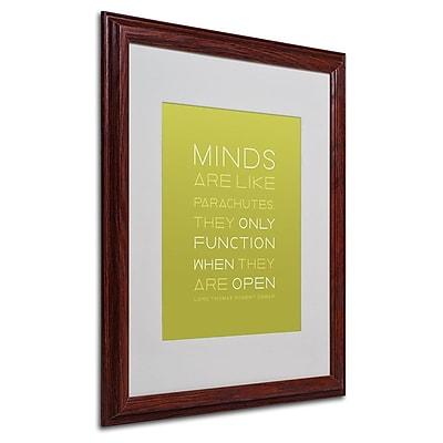 Trademark Fine Art 'An Open Mind' 16