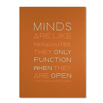 Trademark Fine Art 'An Open Mind II' 14