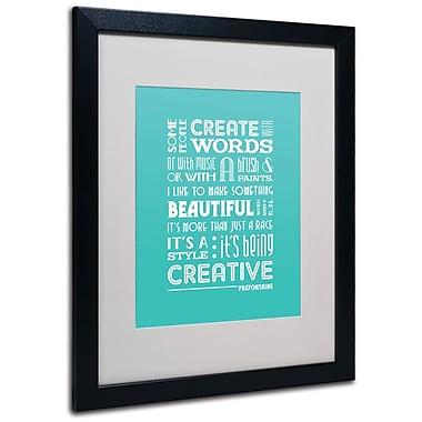 Trademark Fine Art 'Creative Running I' 16