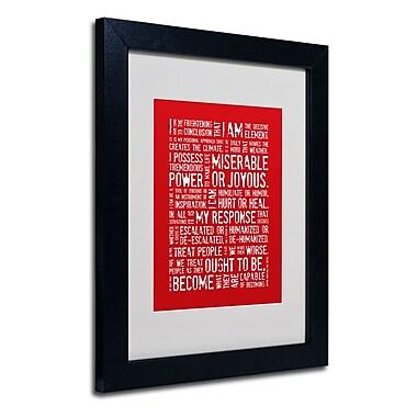 Trademark Fine Art 'Decisive Elements'