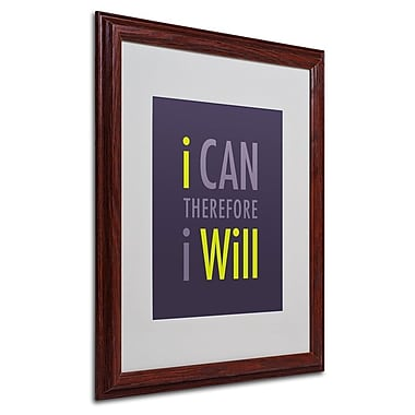 Trademark Fine Art 'I Will I' 16