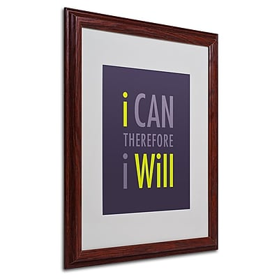 Trademark Fine Art 'I Will I' 16