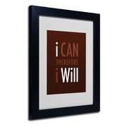 Trademark Fine Art 'I Will II'