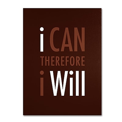Trademark Fine Art 'I Will II' 18