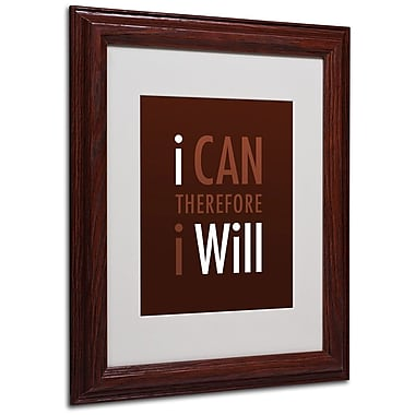 Trademark Fine Art 'I Will II' 11