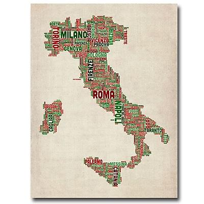 Trademark Fine Art 'Italy I' 24