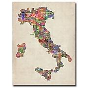 "Trademark Fine Art 'Italy II' 18"" x 24"" Canvas Art"