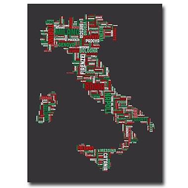 Trademark Fine Art 'Italy IV' 35