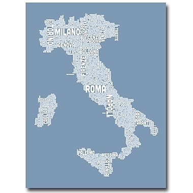 Trademark Fine Art 'Italy in Blue' 35