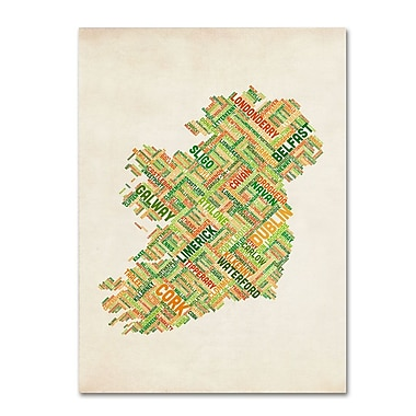 Trademark Fine Art 'Ireland I' 30