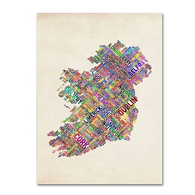 Trademark Fine Art 'Ireland II' 30