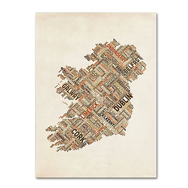 Trademark Fine Art 'Ireland III' 30