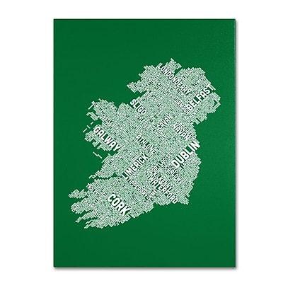 Trademark Fine Art 'Ireland IX' 22