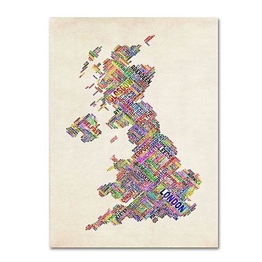 Trademark Fine Art 'United Kingdom I' 30