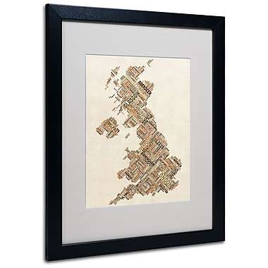 Trademark Fine Art 'United Kingdom II' 16