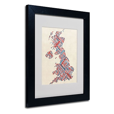 Trademark Fine Art 'United Kingdom III' 11