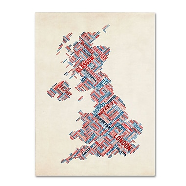 Trademark Fine Art 'United Kingdom III' 16