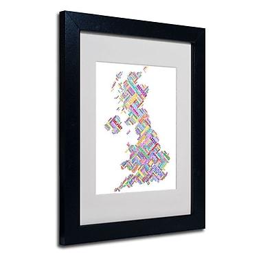 Trademark Fine Art 'United Kingdom IV' 11