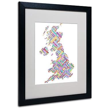 Trademark Fine Art 'United Kingdom IV' 16