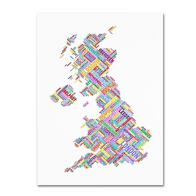 Trademark Fine Art 'United Kingdom IV' 22