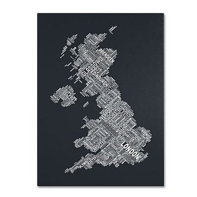 Trademark Fine Art 'United Kingdom V' 14