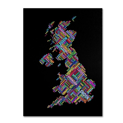 Trademark Fine Art 'United Kingdom VII' 30