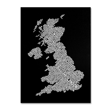 Trademark Fine Art 'United Kingdom VIII' 14
