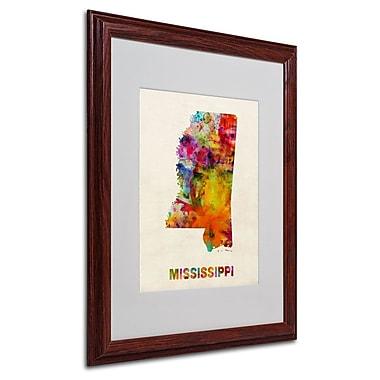 Trademark Fine Art 'Mississippi Map' 16
