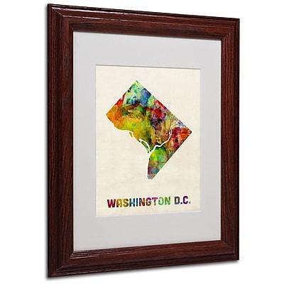 Trademark Fine Art 'Washington D.C. Map' 11