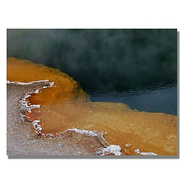 Trademark Fine Art 'Yellowstone Hot Springs' 30