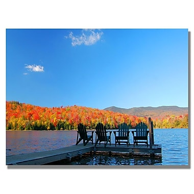 Trademark Fine Art 'The Adirondack Viewpoint' 30