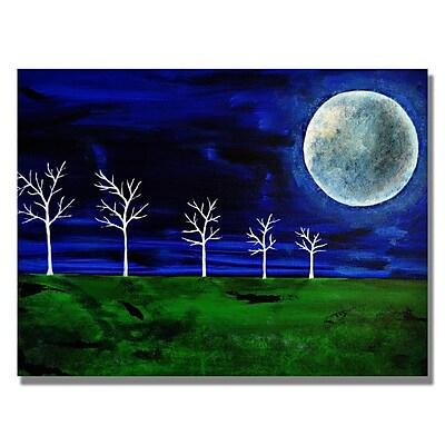 Trademark Fine Art 'Blue Moon' 24